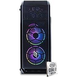 Pc desktop i7 10700,Ram 16 Gb Ddr4, Ssd M.2 500 Gb, Windows 10 Pro,Computer fisso,assemblato,completo per ufficio,Pc fisso i7