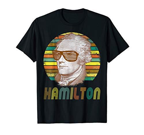 Vintage style gift A Ham Alexander Hamilton tshirt