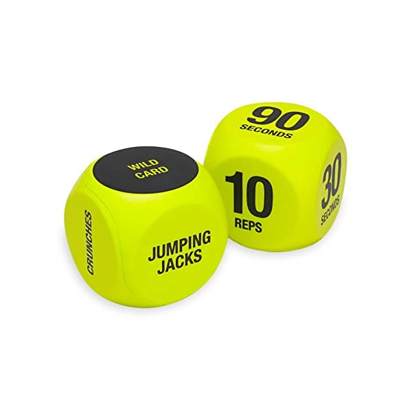 Fitness Equipment Shopping SPRI Exercise Dice (6-Sided) – Game for Group Fitness & Exercise Classes
