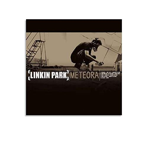 XJJJ Linkin Park Meteora Album Cover Poster Decorative Painting Canvas Wall Art Living Room Posters Bedroom Painting 12x12inch(30x30cm)