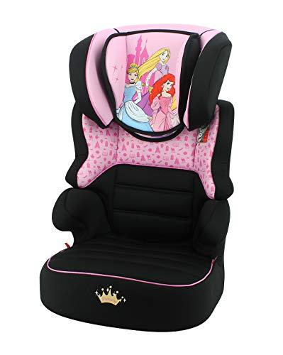 Kindersitzerhöhung BEFIX Gruppe 2/3 (15 – 36 kg) – 4 Sterne ADAC – Französisches Produkt – Prinzessin Disney