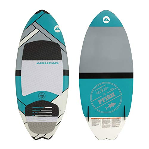 Airhead PFISH Wakesurf Board, Skim Style, multi