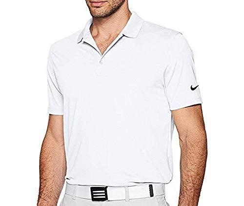 Nike Golf Men's Dri-Fit Performance Polo White AO2195 100 Size XL