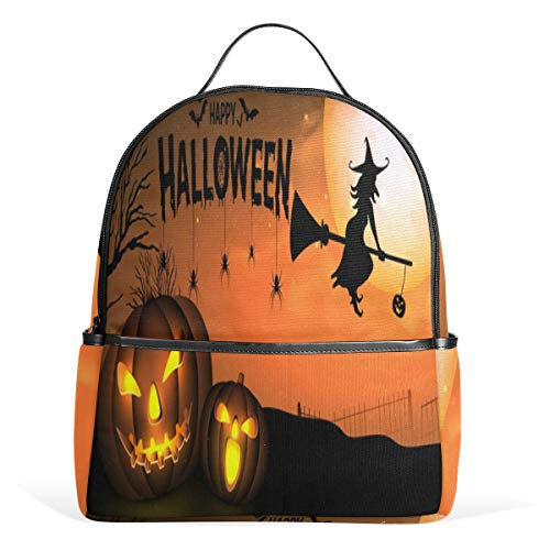 Mr.XZY Mochila de calabaza de Halloween para niño para niña bolso mochila 2011683