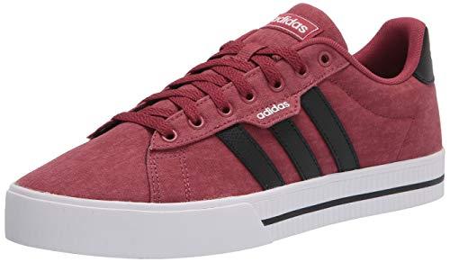 adidas Men's Daily 3.0 Skate Shoe, Legacy Red/Black/White, 8