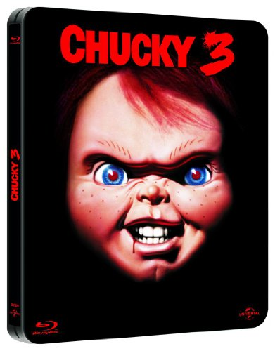 Chucky 3 - Limited Steelbook Edition - Uncut BLU-RAY-NEU
