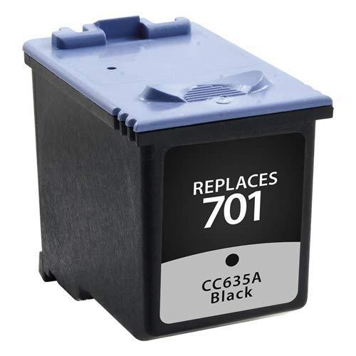 Cartucho de tinta negro para Hewlett Packard CC635A (HP 701)