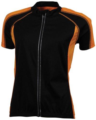 James & Nicholson Ladies' Bike-T - Camiseta de Ciclismo para Mujer, Color...