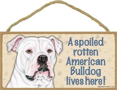 Fresno Mall SJT ENTERPRISES INC. A Some reservation Spoiled he Rotten American Lives Bulldog