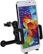 Car Mount AC Air Vent Holder Rotating Cradle Swivel Dock for MetroPCS Alcatel OneTouch Fierce XL - MetroPCS Alcatel Tru - MetroPCS iPhone 5S - MetroPCS iPhone 6S