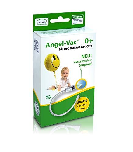 Nasensauger Baby Angel-Vac Mundnasensauger Nasensauger Baby Manuell Mit Extra weichem Saugkopf