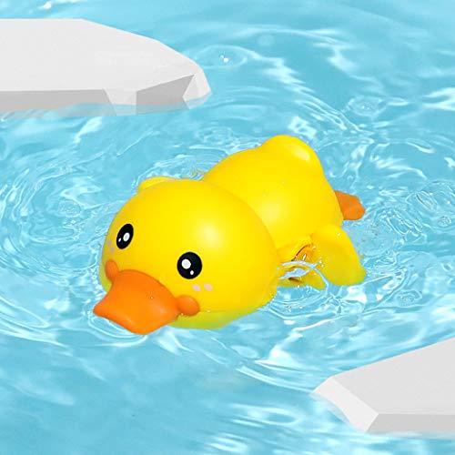 Qiuday Badespielzeug Baby, 4 Stück Schwimmen Badewanne Pool Babyspielzeug Uhrwerk Wasserspielzeug Ente Badewannenspielzeug Aufziehspielzeug Geschenk Für Kleinkinder Jungen Mädchen