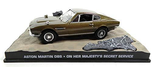 James Bond Aston Martin DBS 007 On Her Majesty\'s Secret Service 1/43 (KY04)