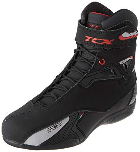 TCX Men's Motorcycle Boots (Black, US:5.5)