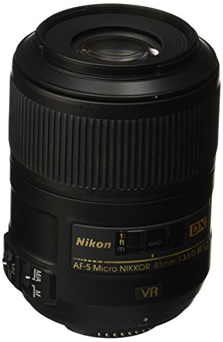 Nikon AF-S DX Micro NIKKOR 85mm f/3.5G ED Vibration Reduction Fixed Zoom Lens with Auto Focus...