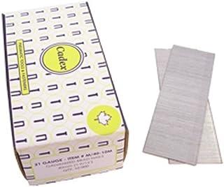 Cadex M-40-10M 21-Gauge Slight Headed 1-9/16-Inch Brad Nails 10000 Count