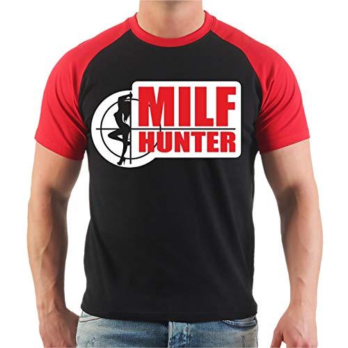 Männer und Herren T-Shirt Milf Hunter Größe S - 8XL