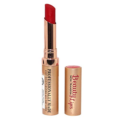Colors Queen Beauty Lip Pure Matte Lipstick ( Rich Red, 4g )
