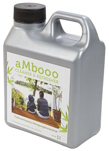 Cleaner / Reiniger für Terrassendielen aus Bambus - für eine saubere Terrasse