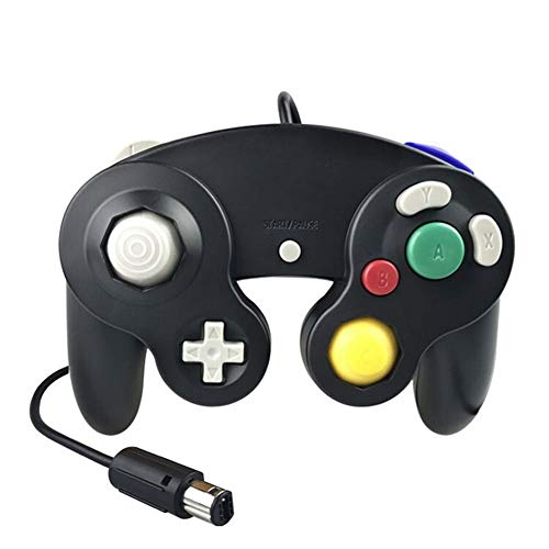 ZZYLHS Controlador con Cable Clásico Joypad Joystick Gamepad Game Cube Controller Vibration Gameing (Color : 06)