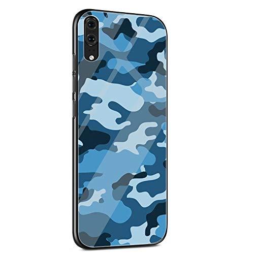 Funda Teléfono móvil de la caja de cristal for P30 P20 P10 mate 20 Patrón Pro case case case case case case Case Case Case Case Case Case Case Lite Y6 Y9 P inteligente Samuel cubierta de camuflaje mil