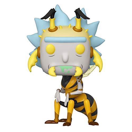 Funko Pop Animation: Rick & Moty - Wasp Rick, Multicolor, Estándar