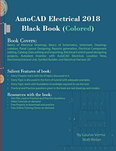 AutoCAD Electrical 2018 Black Book (Colored)