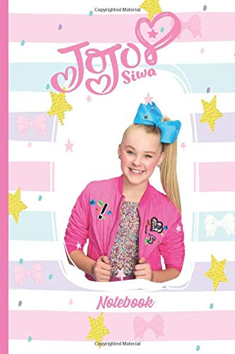 Jojo Siwa NoteBook: Blank Lined Journal To Write In For Notes, Ideas, Diary, To-Do Lists, Notepad / Girls and Teens Power