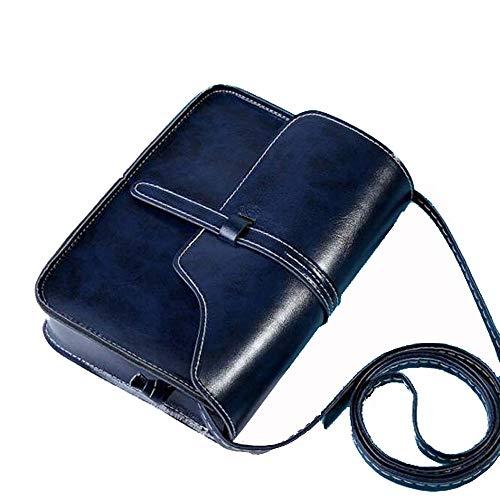 Cramberdy Schultertasche Damen, Umhängetasche Damen, Messengertasche Damentaschen Handtaschen Rucksack Vintage Frauen Handtasche Tasche Crossbody Schultertasche aus Leder Schulter Kleine Tasche