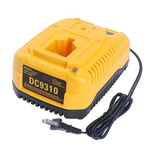 Biswaye 18V XRP Battery Charger Compatible with DEWALT 7.2V-18V NiCd NiMh Battery DC9096 DC9098 DC9099 DW9099 DW9072 DW9057 DW9091 DW9094 DC9071 DW9062 DC9091, DC9310