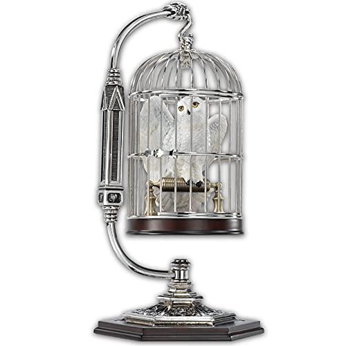 La Noble Collection Miniature Hedwige En Cage