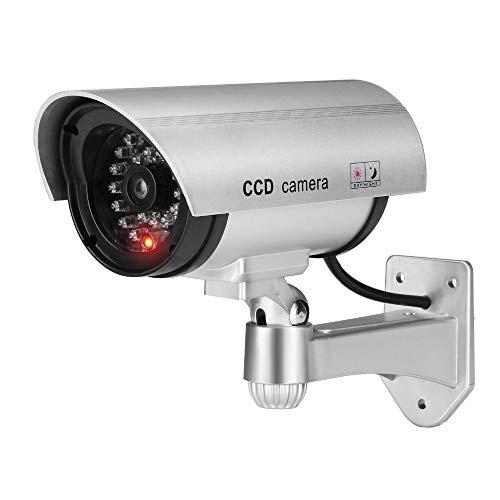 Überwachungskamera-Attrappe 204828 für innen/außen, 9S763ieaY
