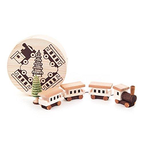 Miniatur-Eisenbahn in Spandose - Dregeno Erzgebirgische Holzkunst - Artikel 070/008