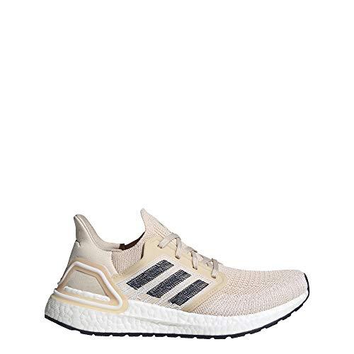 adidas Ultraboost 20 - Zapatillas de Correr para Mujer, Color Beige, Talla 44 2/3 EU