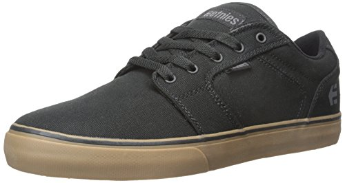 Etnies Barge Ls, Zapatillas de Skateboard para Hombre, Negro (Black/Grey/Gum579), 39 EU
