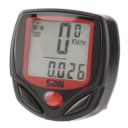 YUXIwang Multifunzionale Computer Della Bicicletta Cablato Contachilometri Cronometro Impermeabile Mini Digital Lcd Tachimetro Tracker Commercio All'ingrosso Accessori Bici