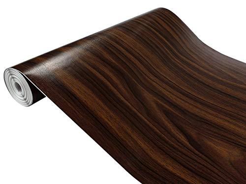 d-c-fix Folie Walnuss 90x100 cm selbstklebende Möbelfolie Selbstklebefolie Klebefolie Meterware Holzoptik Deco Design Folie