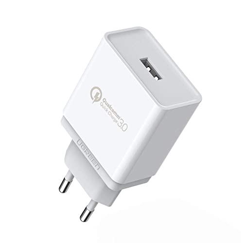 UGREEN Cargador Rápido QC 3.0 18W Quick Charge Qualcomm ...