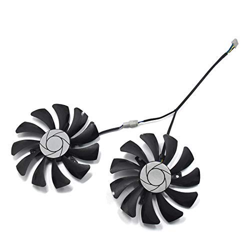 HA9010H12F-Z 85mm 4-Pin Video Card Cooling Fan Replacement for MSI GTX 1050 1060 Graphic Card PNY GTX1070 DIY Fan