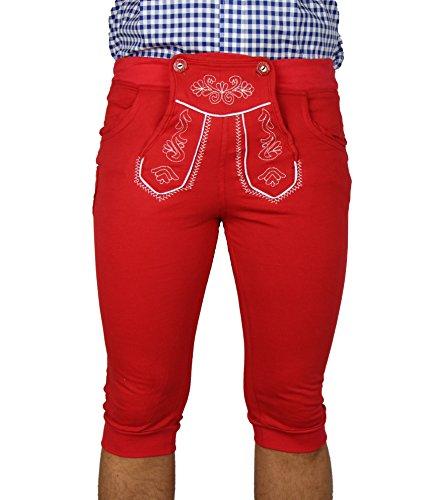 MS-Trachten MS-Trachten Trachten Kniebund Jogginghose Kinder viele Farben rot 116