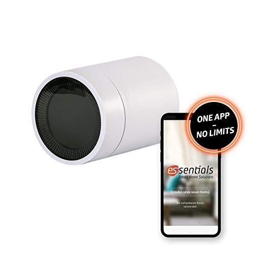 essentials Smart Home Heizungsthermostat Premium, Zigbee Heizkörperthermostat, intelligente Heizungssteuerung, inkl. App