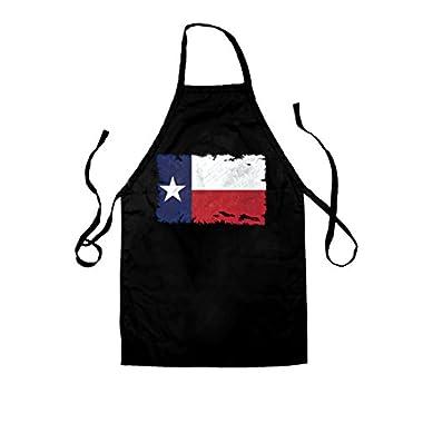 Dressdown Texas Grunge Style Flag - Unisex Adult Fit Apron - 2 Colours