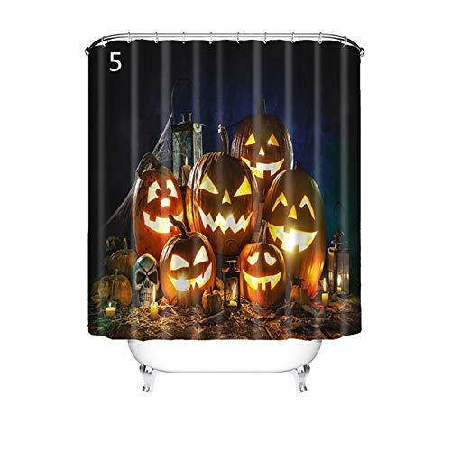 Skystuff Lot de 12 rideaux de d/écoration pour Halloween Blanc /à suspendre Fant/ôme effrayant D/écoration dHalloween Rideau de sorci/ère pour salle de f/ête en plein air Maison hant/ée noir
