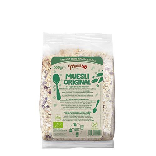 Muesli básico sin azúcar gluten free BIO - Muesli Up - 350gr (Cja 6 uds) Total: 2100g