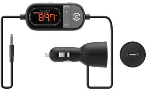 Belkin In Car Tunecast 6 Universal FM Transmitter - Black