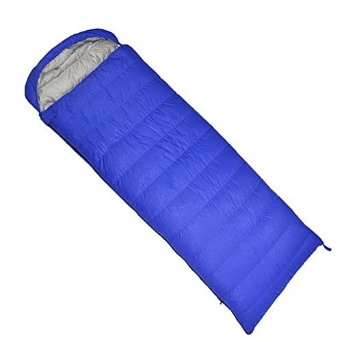 Saco de dormir ligero, cálido y lavable, saco de dormir para adultos, impermeable, camping, senderismo, mochilero
