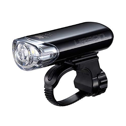 キャットアイ(CAT EYE) 自転車用LEDライト ヘッドライト URBAN アーバン HL-EL145 ブラック 前照灯として使...