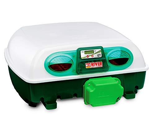 Incubatrice Per Uova Automatica Digitale Con Girauova, Capacità 49 Uova Di Gallina, Anatra, Oca, Tacchino, 196 Uova Di Quaglia,