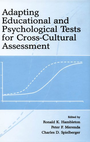 Adapting Educational and Psychological Tests for Cross-Cultural Assessment (English Edition)