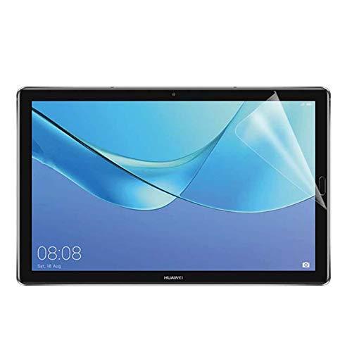 Lobwerk 2X Schutzfolie für Huawei MediaPad T5 10 / Honor Pad 5 mit 10.1 Zoll Bildschirmschutz Folie klar transparent Anti-Fingerprint
